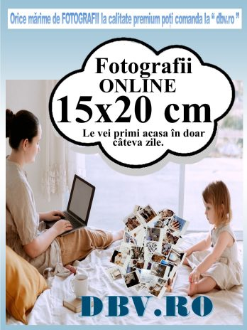 Fotografii 13×18 sau 15×20 cm profesionale