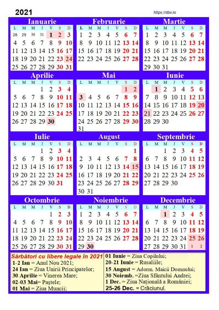 2021-calendar-Romanesc-3-col-cu-libere-legale-descarcabil